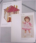 Click here to enlarge image and see more about item t00283: Doll & Dollhouse Booklets