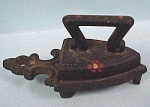 Click to view larger image of Antique Miniature Iron & Trivet (Image1)