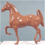 Click to view larger image of Hartland 3-Gaited Saddlebred Horse Woodcut (Image1)