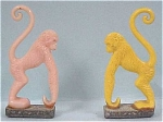 Click here to enlarge image and see more about item t00512: 1950s Cracker Jack Prize Monkey