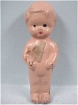 Click here to enlarge image and see more about item t00632: 1930s Composition Mini Boy Doll