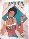 Click here to enlarge image and see more about item t00672: 1977 Whitman Paper Doll Lydia #1970