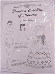 Click here to enlarge image and see more about item t00723: 1979 Princess Caroline of Monico Paper Doll