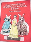 Click here to enlarge image and see more about item t00727: 1977 Dover Paper Dolls Godey's Lady Book
