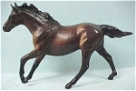 Click here to enlarge image and see more about item t00835: Breyer Stablemate Seabiscuit Dark Bay