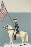 Click here to enlarge image and see more about item t00981: Hartland Horse And Rider Washington