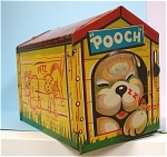 Click here to enlarge image and see more about item t00998: Tot-Tested Toys Ltd. Pooch, the Pop-Out Pup