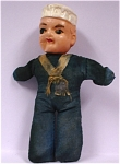 US Navy Sailor Doll