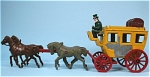 Click to view larger image of English Coach with Four Horses (Image1)