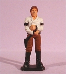 Click here to enlarge image and see more about item t01042: Miniature Metal Star Wars Hans Solo