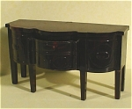 Click here to enlarge image and see more about item t01105: Ideal Plastic Dollhouse Sideboard