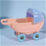 Click here to enlarge image and see more about item t01133: Acme / Thomas Industries Dollhouse Baby Buggy