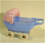 Click here to enlarge image and see more about item t01135: Acme / Thomas Industries Dollhouse Baby Buggy