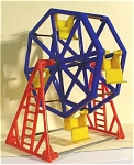 Click here to enlarge image and see more about item t01138: Acme / Thomas Industries Dollhouse Ferris Wheel