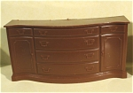 Click here to enlarge image and see more about item t01166: Marx Plastic Dollhouse Sideboard
