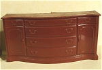Click here to enlarge image and see more about item t01167: Marx Plastic Dollhouse Sideboard