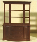 Click here to enlarge image and see more about item t01168: Marx Plastic Dollhouse China Cupboard