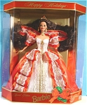 Click here to enlarge image and see more about item t01211: Mattel 1997 Holiday Barbie