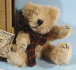 Click here to enlarge image and see more about item t01370: Boyds Mohair Bear, Adam F. Bearington