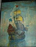 1930s/1940s Buckingham Picture Puzzle Sailing Ship