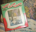 Click to view larger image of 1950s/1960s Picture Puzzle Winter Scene (Image1)