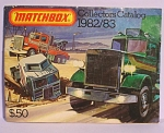 Click here to enlarge image and see more about item t01480: 1982/1983 Matchbox Collector's Catalog
