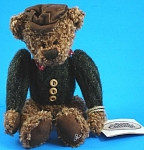 Click here to enlarge image and see more about item t01485m: 2001 Ganz Cottage Bear Woody