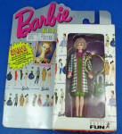 Click here to enlarge image and see more about item t01554: Barbie Doll Keychain