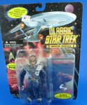 Click here to enlarge image and see more about item t01560: 1995 Classic Star Trek Movie Series Kruge