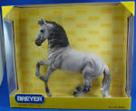 Click here to enlarge image and see more about item t01586: Breyer 2008 Breyerfest Celebration Model Alboronzo