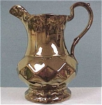 Click here to enlarge image and see more about item w00227: Wade Copper Lustre Pitcher