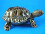 Click here to enlarge image and see more about item w00442: Wade Tortoise Trinket Box