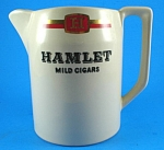 Click here to enlarge image and see more about item w00509: Wade Hamlet Cigars Advertising Pitcher