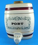 Click here to enlarge image and see more about item w00519: Wade Port Cask Barrel