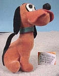 Click here to enlarge image and see more about item wd00018: Vintage Stuffed Pluto