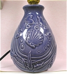 Click here to enlarge image and see more about item wd00051: Pottery Disney  Fantasia Lamp