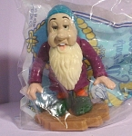 Click here to enlarge image and see more about item wd00071: 1992 Disney McDonalds Plasdtic Dwarf Sleepy