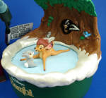Click to view larger image of 2001 Hallmark Disney Bambi Discovers Winter (Image2)