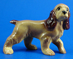 Click here to enlarge image and see more about item xh02387: Hagen-Renaker Miniature Cocker Spaniel