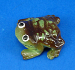 Click here to enlarge image and see more about item xh02393: Hagen-Renaker Miniature Mr. Froggie