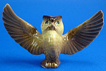 Click here to enlarge image and see more about item xh02398: Hagen-Renaker Miniature Papa Owl
