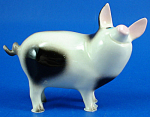 Click here to enlarge image and see more about item xh02402: Hagen-Renaker Miniature Papa Pig
