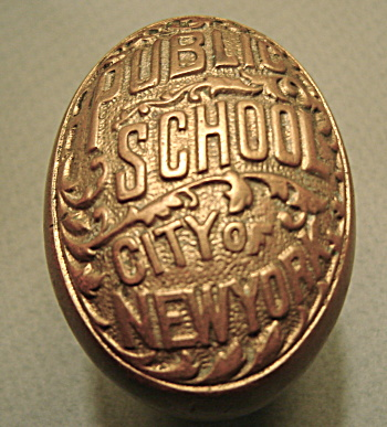 New York Public School C.1899 Door Knobs