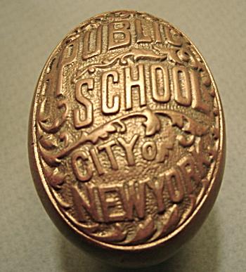 NEW YORK PUBLIC SCHOOL C.1899 DOOR KNOBS (Image1)