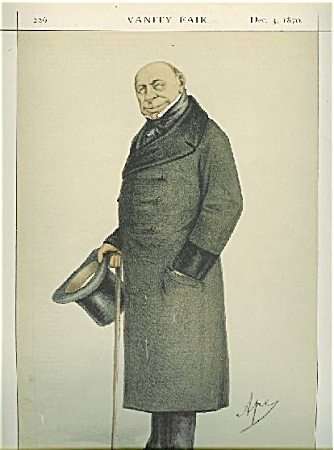 Vanity Fair Color Lithograph - Men Of The Day No. 15.