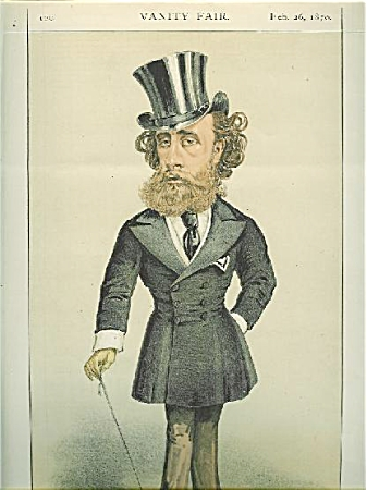 Vanity Fair Color Lithograph - Statesmen No. 42.