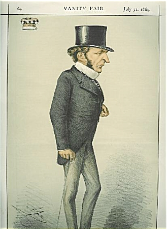 Vanity Fair Color Lithograph - Statesmen No. 26.