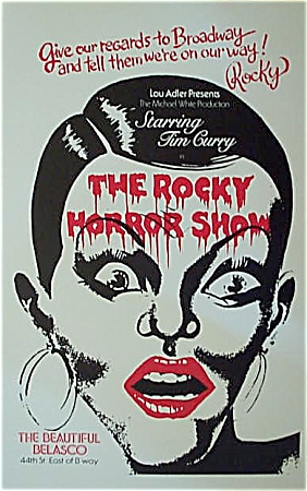 1974 Rocky Horror Show - Broadway Show Original Poster