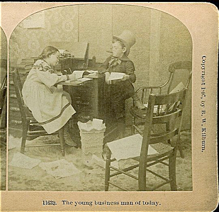 STEREOVIEW - YOUNG BUSINESS MAN OF TODAY. (Image1)