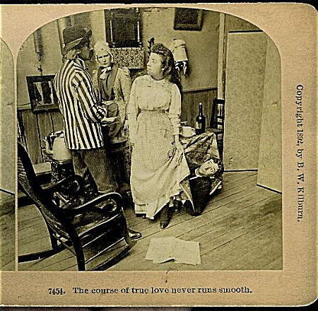 STEREOVIEW - TRUE LOVE NEVER RUNS SMOOTH. (Image1)